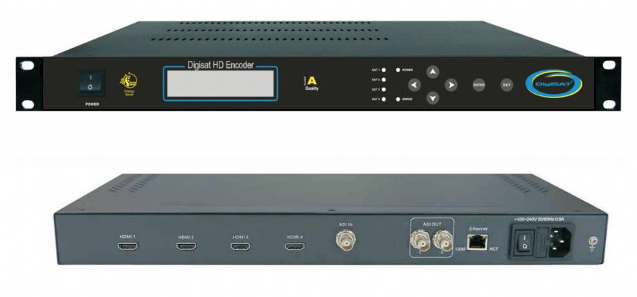 DSHDE 4001A HD Encoder - Digisat Network | 0(212) 486 35 88