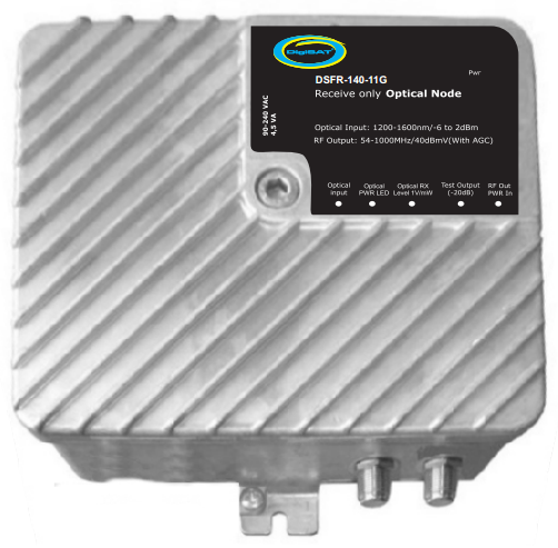 DSFR-140-11G Fiber Optik Alıcı - Digisat Network | 0(212) 486 35 88
